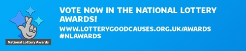 Vote for National Lottery Award banner