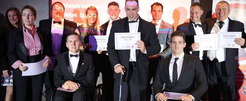 InstructAbility award winners 2015